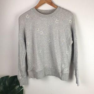 Mile (s) x Madewell | daisy sweatshirt